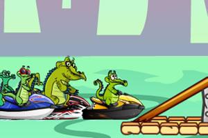 小鳄鱼赛艇