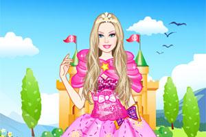 芭比公主的秋装