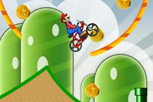 马里奥越野自行车