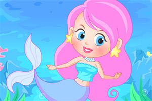 小美人鱼的可爱