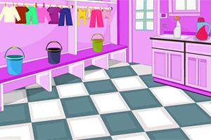 打扫洗衣房