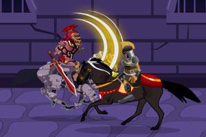 勇猛的黑暗骑士