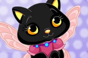 万圣节猫仙子美容