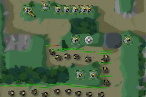 要塞防御激战