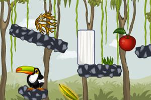 犀鸟的红苹果