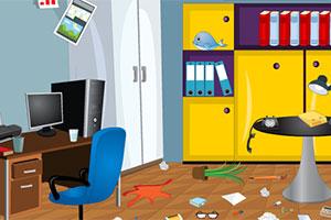 打扫办公室