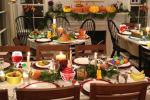 感恩节晚餐找东西