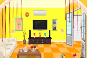 黄色的客厅逃脱