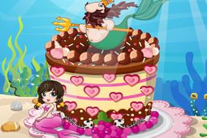 深爱美人鱼蛋糕