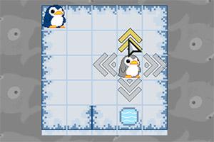 小企鹅进水坑
