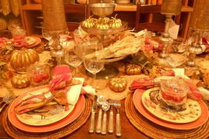 感恩晚宴找东西