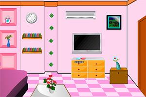 粉色房屋逃脱