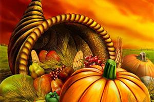 快乐感恩节找数字
