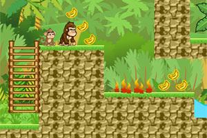 大猴小猴找香蕉