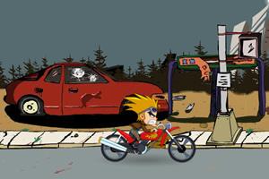 疯狂特技摩托车