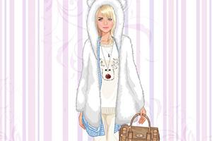 美丽冬季时装