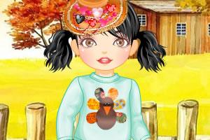 感恩节儿童服装