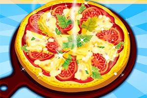 蔬菜比萨饼