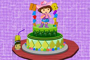 给朵拉的生日蛋糕