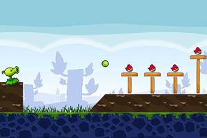 豌豆射手大战愤怒的小鸟