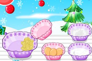 圣诞树纸杯蛋糕