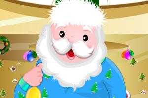 打扮可爱圣诞老人