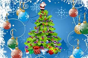 晚会圣诞树