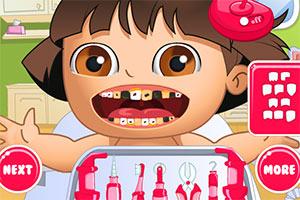 宝贝朵拉看牙医