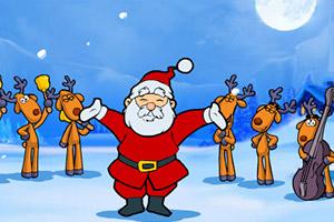 欢乐圣诞老人歌唱