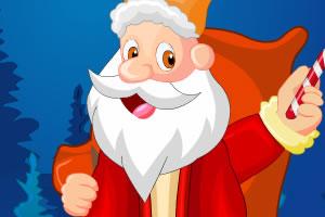 送礼圣诞老人装扮