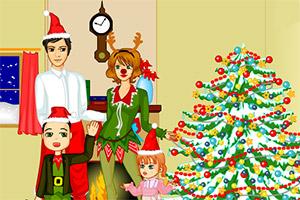 圣诞欢乐一家亲