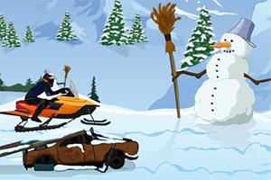 特技雪橇车