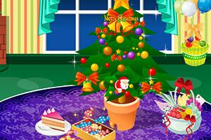 圣诞节房间布置
