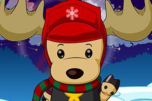 圣诞小鹿换装