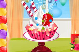 新年纸杯蛋糕