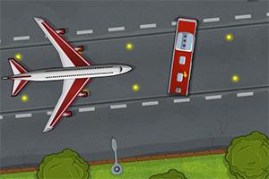 飞机场停靠大巴2