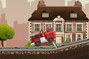 消防大卡车
