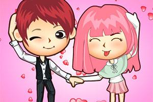 情人节甜蜜的爱