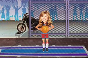 萨姆投篮练习