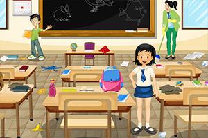 打扫教室卫生