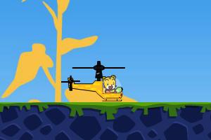 巧虎喷火直升机2