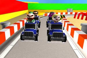 3D迷你小车赛