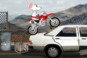 白鼠特技摩托
