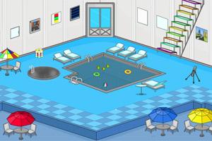 室内游泳池逃脱