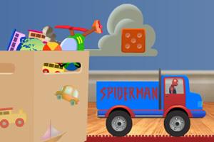 蜘蛛侠运输玩具