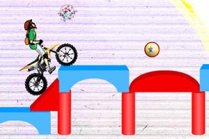 方块赛道摩托秀