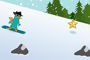 飞哥与小佛滑雪