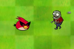 愤怒的小鸟大战僵尸