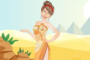 装扮沙漠之女