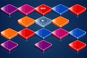 彩色连体方块